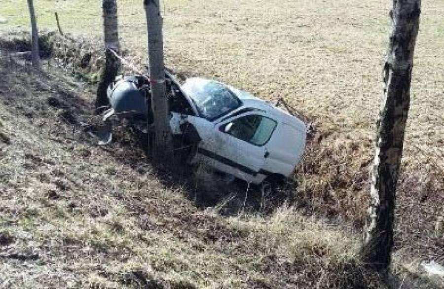 Saint-Agrève : une voiture accidentée retrouvée à côté de la caserne des pompiers