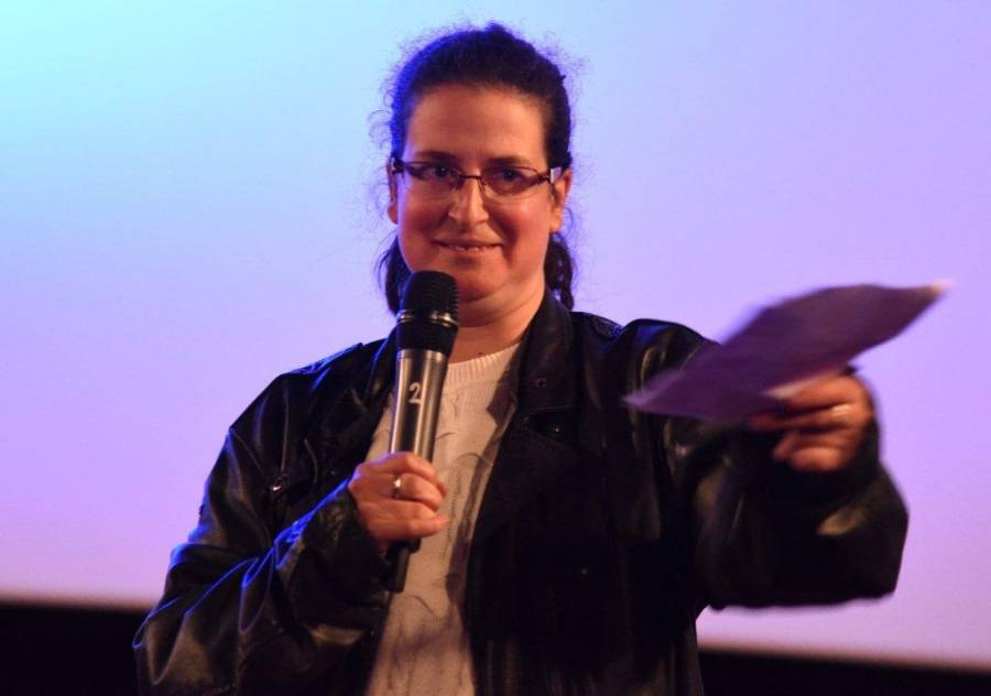 Carine Loubeau, présidente de Cinémagie. Photo Lucien Soyère