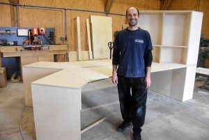 """Queyrières : l'Atelier de Bertrand vient d'ouvrir au """"Fournial"""""""