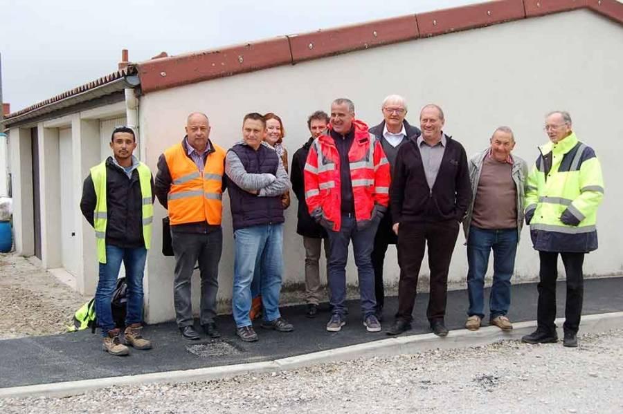 Saint-Just-Malmont : le chantier de la rue du Stade en cours d'achèvement