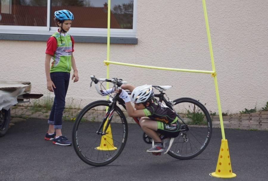 Chaspuzac : à l'école du vélo