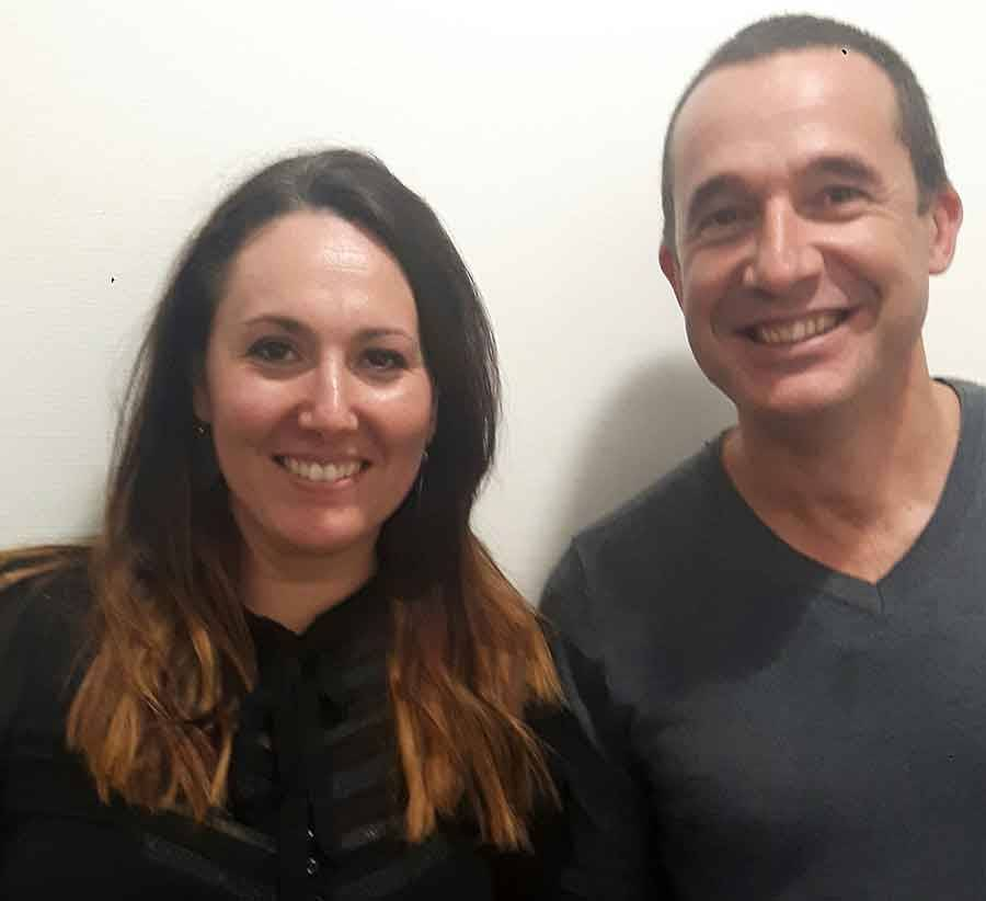 Julie Tareriat et Rémy Guicherd.