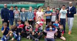 Puy-en-Velay : les écoliers découvrent la boxe française