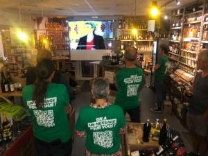 Quand les Verts suivent le débat des Régionales sur grand écran