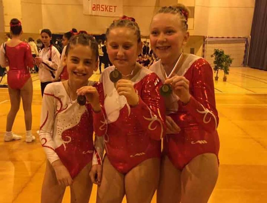 Aérobic : Yssingeaux aux championnats inter-départementaux à Roanne