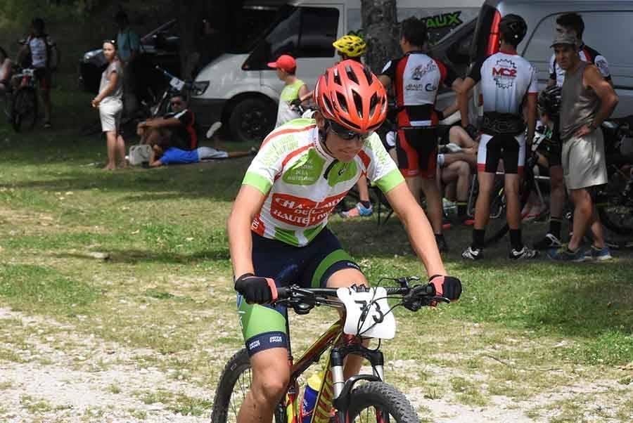 Ronde Cévenole VTT : Etienne Romieu sans concurrence chez les jeunes