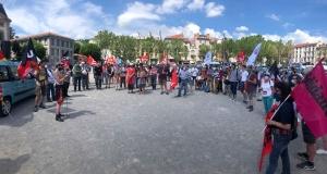 Une centaine de manifestants contre le racisme et les idées d'extrême-droite
