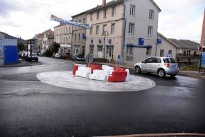 Yssingeaux : un aménagement définitif pour les deux giratoires du centre-ville