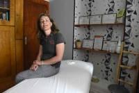 Sandra Gire a aménagé une salle à son domicile.
