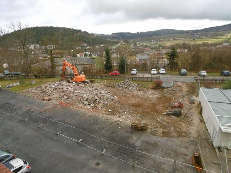 Yssingeaux : l'amphithéâtre du lycée agricole démoli, une salle polyvalente en construction