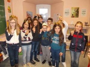 Saint-Didier-en-Velay : des rois et des reines à l'école Jeanne-d'Arc
