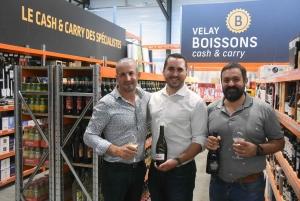 Jean-Régis Marcon, Tristan Jalodin et Johannès Marcon