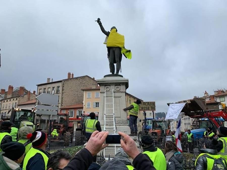 Gilets jaunes : Lafayette à la rescousse