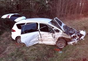 Un violent choc frontal fait deux blessés près de Saint-Julien-Chapteuil