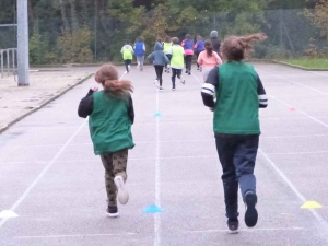 Dunières : les écoliers de Jacques-Prévert participent à leur première course solidaire