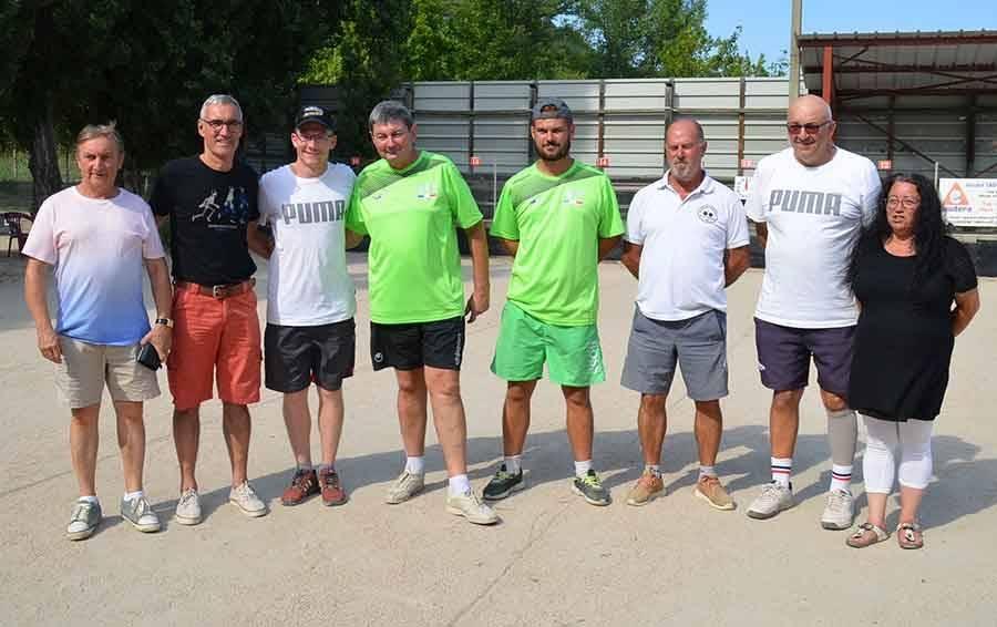 Boules lyonnaises : Alexandre et Daniel Chirat grands gagnants à Brives-Charensac