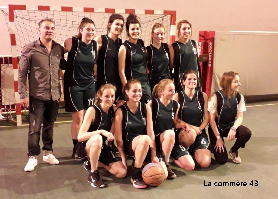 Saint-Pal-de-Mons : les basketteuses visent le titre départemental dimanche
