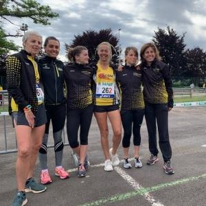 Championnats de France d'ekiden : les Monistroliens frôlent le podium