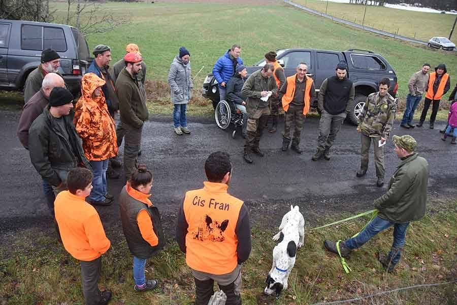 Lapte : 17 équipages au concours de chasse