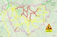 Neige : une circulation délicate mercredi sur tous les réseaux routiers