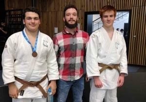 Judo : deux espoirs brivois qualifiés pour la finale nationale
