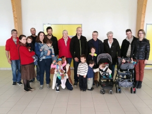 Saint-Jeures : les bébés à l'honneur