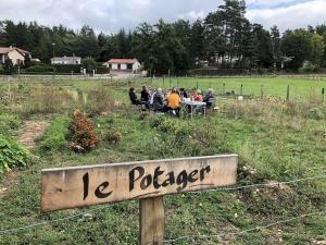 Un pique-nique au Potager de Beauzac