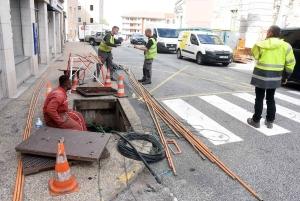 Yssingeaux : un câble Orange sectionné provoque une coupure internet et téléphone en centre-ville