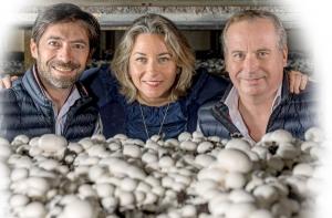 Les trois dirigeants de Lou : Fabrice Chapuzet, Emmanuelle Roze et Benoit Roze