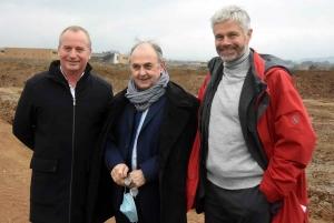 Benoit Roze, Eric Murgue et Laurent Wauquiez