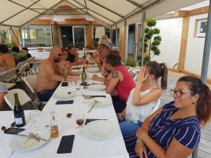 Yssingeaux : les pompiers passent une journée en famille à la Rouveure