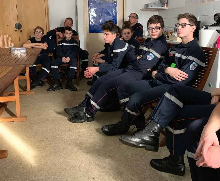 Tence : les jeunes sapeurs-pompiers sensibilisés aux addictions