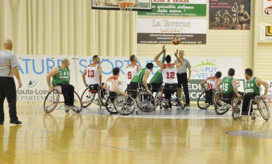 Basket Handisport NA : Le Puy s'impose face à Lannion 106 à 35