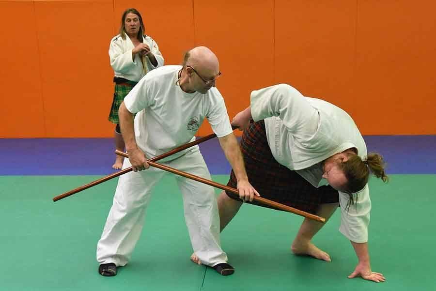 Haut-Lignon : ils pratiquent leur art martial... en kilt (vidéo)