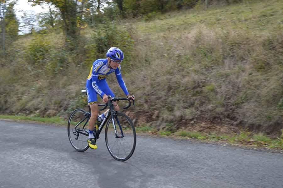 Romain Fayolle réalise le meilleur de Chaspinhac en 10'41''