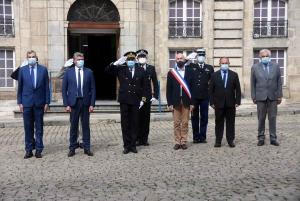 Eric Etienne officiellement installé nouveau préfet de la Haute-Loire
