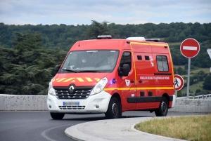 Yssingeaux : un motard blessé dans un accident avec une voiture