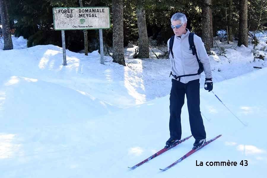 Meygal : 12 km de pistes de ski de fond ouverts dans le massif