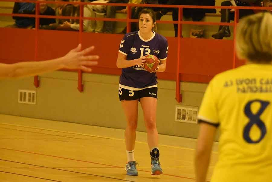 Aurélie Paullaud a inscrit 8 buts sur 14 tirs
