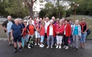 Monistrol-sur-Loire : 25 randonneurs en Toscane