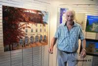 Denis Michel avait aussi un joli coup de pinceau.