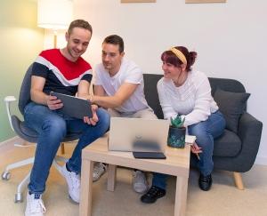 Yssingeaux : trois amis créent l'Agence Off, une agence de communication
