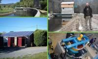 Un toit photovoltaïque et deux centrales hydroélectriques à visiter vendredi et samedi