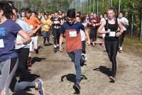 Cross des lycées publics d'Yssingeaux : les minimes et les cadettes
