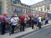 Les cheminots de Haute-Loire reçus par la ministre des Transports
