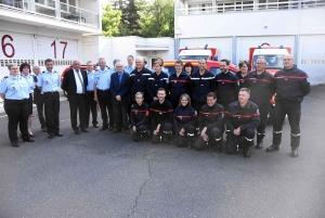 Pompiers : une équipe spéciale formée avec des infirmiers de la Loire et la Haute-Loire
