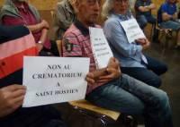 Le collectif d'opposants au crématorium à Saint-Hostien fait le point