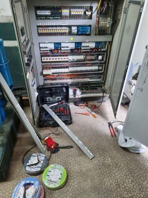 Modification armoire froid avec automate de régulation