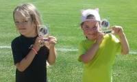 Le Chambon-sur-Lignon : une première séance de foot féminin ensoleillée