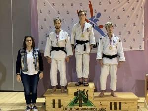Sandro Montana, vice-champion d'Auvergne de judo